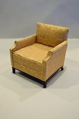 1:6 Scale Furniture for Fashion Dolls Action Figures 4243FF Brocade Chair