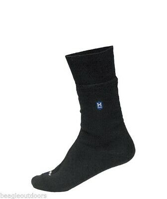 NEW Hanz Waterproof Lightweight Crew Socks Extra Large Black Breathable