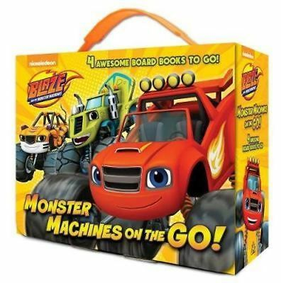 NEW Monster Machines on the Go! (Blaze and the Monster Machines) By Random House