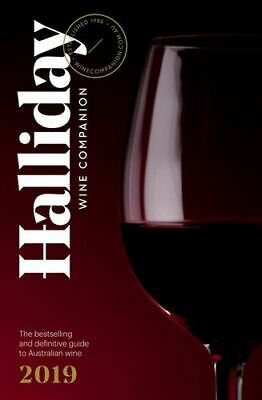 NEW Halliday Wine Companion 2019 By James Halliday Paperback Free Shipping