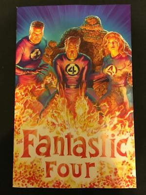 FANTASTIC FOUR #1 1/200 ALEX ROSS VIRGIN VARIANT 1st ERADIKUS NEW VILLAIN 2018
