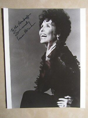 8x10 photo hand signed & inscribed by entertainer LENA HORNE - VERY NICE