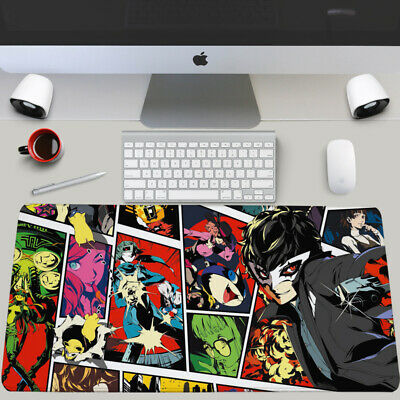 Anime Persona 5 P5 Mouse Pad Large Keyboard Desk Mice Mat Game Playmat 70x40cm