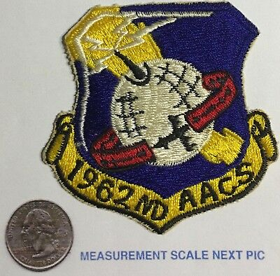 USAF 1962nd AACS Airborne Air Control Squadron Full Color Patch  Cut Edge