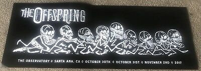 Offspring Ixnay On The Hombre Concert Poster The Observatory 10/30, 10/31, 11/2