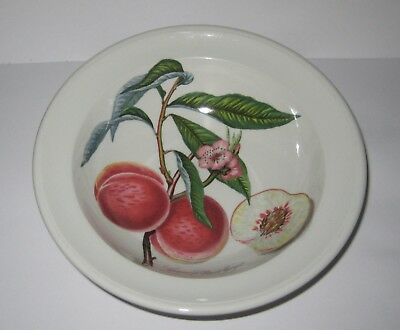PORTMEIRION Pomona Grimwoods Royal George peach 6.5 inch desert cereal dish bowl