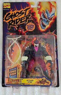 Ghost Rider Vengeance With Rib Clawing Action + Mini Comic Book