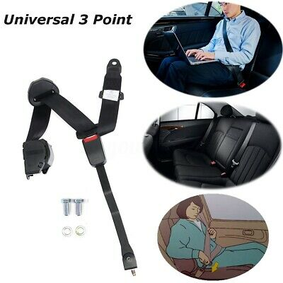 280cm 3 Point Retractable Shoulder Safety Seat Belt For Jeep YJ Wrangler 82-95