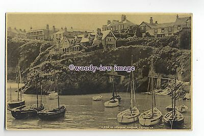 Ju236 -  In The Harbour , Newquay , Cornwall - Judges Postcard 11658