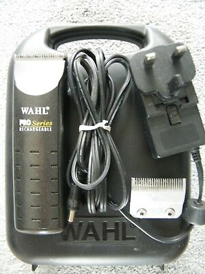 Wahl Pro Series Dog Trimmer With case Used Item In Perfect Condition