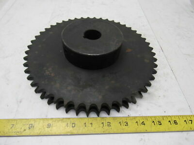 """#50 Roller Chain 2 Strand 50-2 Sprocket 48T 1-3/16"""" Bore"""
