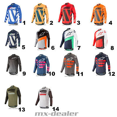 2019 Alpinestars Racer Jersey Braap Supermatic mx motocross Cross Shirt MTB BMX