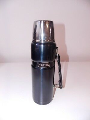 Thermos Stainless King 40oz Vacuum Insulated Beverage Bottle Midnight Blue