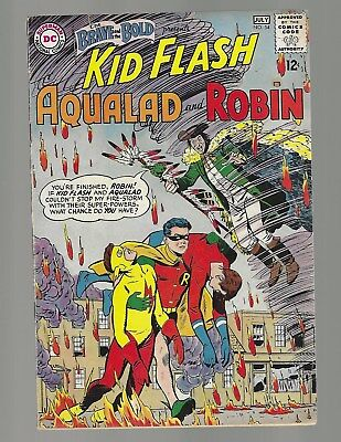 Brave And The Bold #54 1st App Of The Teen Titans