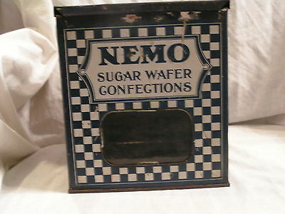 Nemo  Sugar Wafer Confections  Metal Counter Display