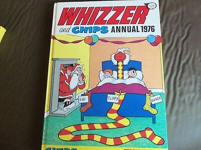 Whizzer And Chips 1976/1987 Vintage Comic Book Annual