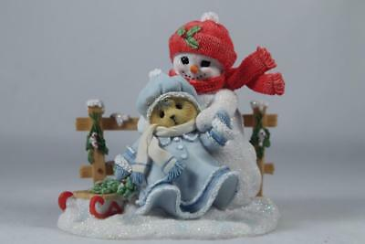 Cherished Teddies 'Marie' Your Smile Can Warm The Coldest Day #4047390 NIB!