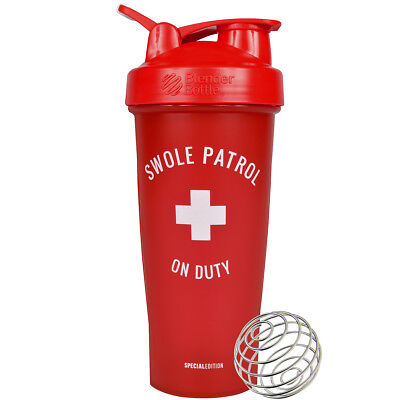 Blender Bottle Special Edition 28 oz. Shaker with Loop Top - Swole Patrol