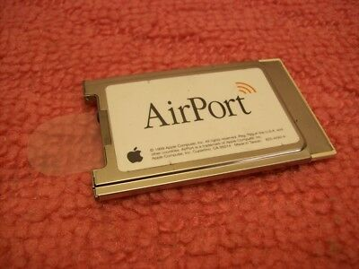 Apple AirPort 802.11b Wireless Card iBook G3 Mac PC24-H 630-2883/C 3892D451