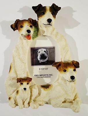 Jack Russell Dogs E&s Imports Inc 3D Picture Photo Frame 3.5X5