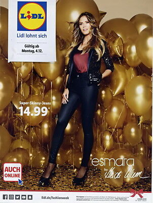 esmata Mode Kollection by Heidi Klum,LIDL Prospekt 12/2017,Festlich,Party,Dinner
