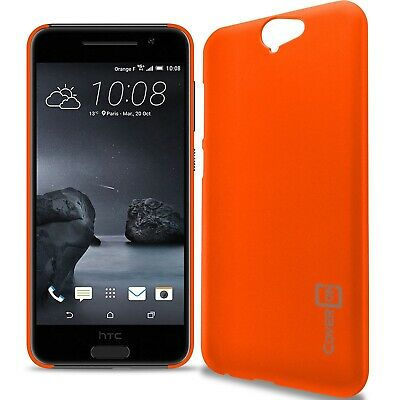 Neon Orange Hard Case for HTC One A9 - Slim Fit Matte Snap On Back Phone Cover