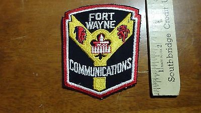 Vintage Fort Wayne Indiana  Communications   Salesman  Copy Patch Bx V #15