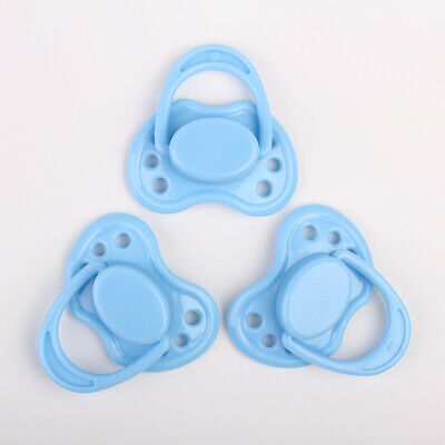 Reborn Baby Dolls Accessories Blue Dummy Magnetic Pacifier Internal Magnet Kits