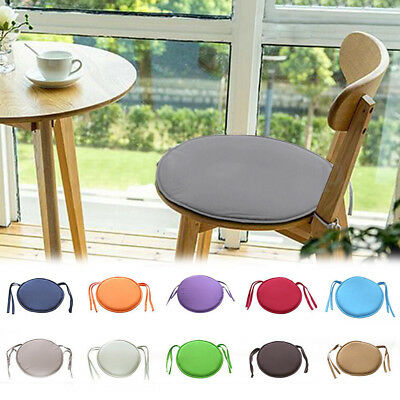 Indoor Outdoor 16 Round Bistro Chair Seat Cushion Pad Red Yellow