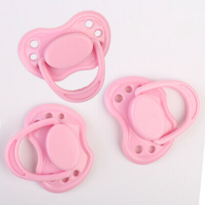 Pink Magnetic Pacifier For Reborn Baby Dolls Internal Magnet Kits Accessories