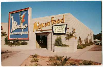 Mexican Restaurant Macayo, North Central, Phoenix AZ Arizona 1950s