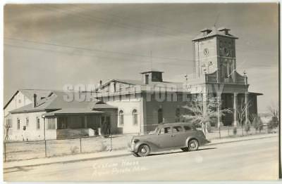 RPPC Boundary, Custom House, Agua Prieta Mexico Douglas Arizona 1940s
