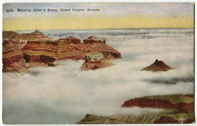 Morning After a Storm, Grand Canyon AZ Arizona Fred Harvey 1900s