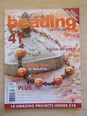 Creative Beading Vol 3 #6~41 Projects~Jewellery~Cufflinks~Necklaces~Bracelets...
