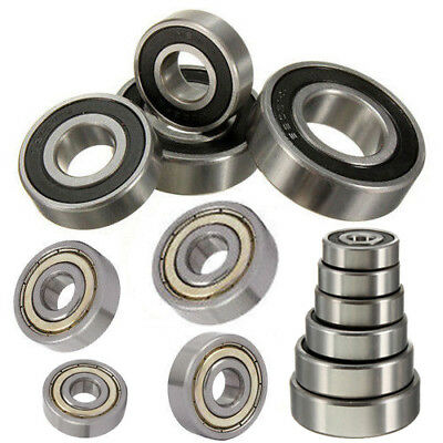 6000 6200 6300 ZZ 2RS Deep Groove Ball Bearing Various Sizes 6000~6303 Series