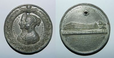 Victoria & Albert - Large Medal - The Great Exhibition Of 1851 - Crystal Palace