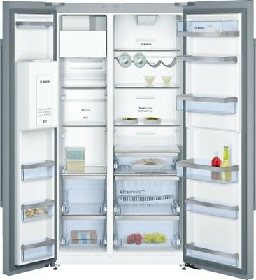 Bosch KAD92AI30 - Doors Stainless Steel - Cool Combi Fridge Freezer Side by Side