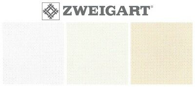 ZWEIGART HARDANGER CROSS STITCH FABRIC - 22ct, Various Colours / Sizes*