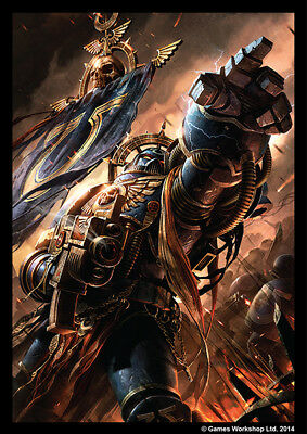 Warhammer 40k - 50 Art Sleeves NEU/OVP Space Marines