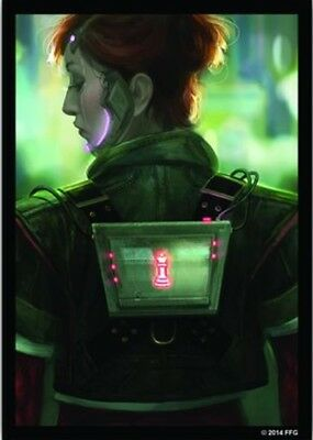 Android Netrunner - 50 Art Sleeves NEU/OVP Deep Red - Limited Edition