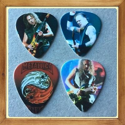 Lot Of 4 🎸Metallica Guitar🎸 Picks 🎸Brand New #10