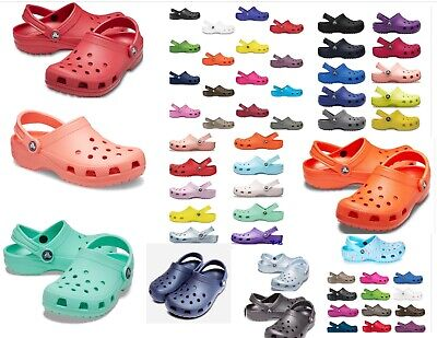 CROCS Original CLASSIC Clogs Shoes sandals Vegan sizes  4 -17 men's women's