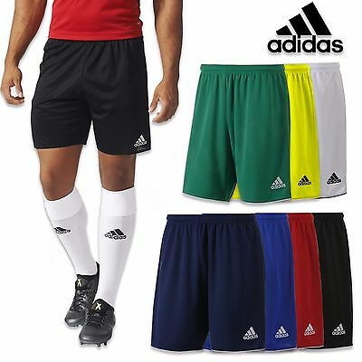 sneakers for cheap 33036 887a3 Adidas Parme 16 Climalite Hommes Sport Football Short Gym Taille S M L XL  XXL