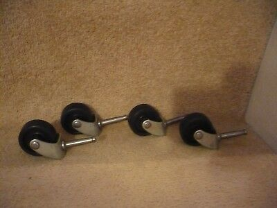 A Set Of Four Caster Wheels A Great Set Indeed