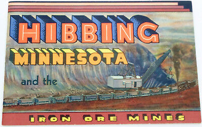 1953 Hibbing Minnesota And The Iron Ore Mines Hibbing Daily Tribune Booklet