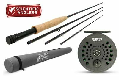 NEW Scientific Anglers 103435 Fly Fishing / Panfish Combo w/rod, reel, case