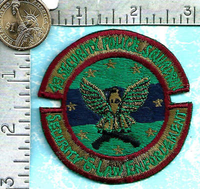 USAF SAC patch (circa 1980's) 43rd Security Police Squadron (Andersen AFB, Guam)