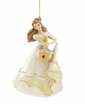 Lenox Disney Princess Belle with Gem Ornament  New for 2018