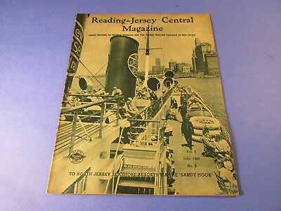 Vintage Reading -  Jersey Central Magazine