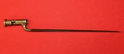 Early Revolutionay War English Made Brown Bess Socket Bayonet